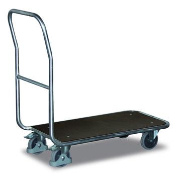 Aluminium Magazinwagen - 200kg Traglast - 440 x 845 mm Ladefläche