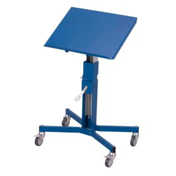 Materialständer - stufenlos höhenverstellbar - 150kg Traglast - Ladefläche 410 x 510 mm