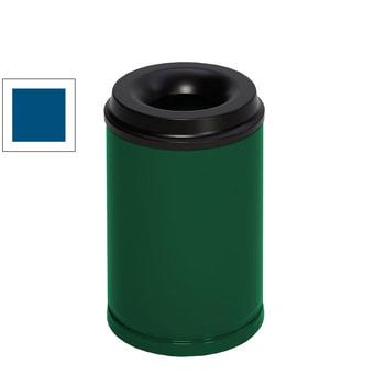 Beispielabbildung feuersicherer Papierkorb: hier in der Ausführung mit Volumen 15 l, Smaragdgrün (RAL 6001)
