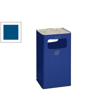 Beispielabbildung Abfallsammler mit Ascher, 96 l, Enzianblau
