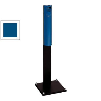 Ascher mit Standfuß, Enzianblau (RAL 5010)