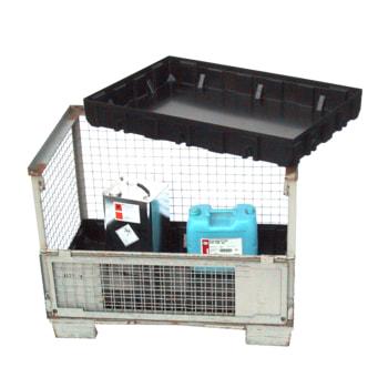 Beispielabbildung Einsatzwanne für Gitterboxen: hier in der Ausführung ohne Gitterrost