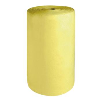 Bindemittel Rolle, gelb, für Säuren, Laugen, Öl und aggressive Chemikalien