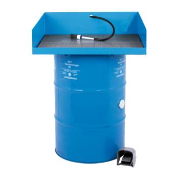 Teilereiniger - Teilewaschgerät - 1 x 200 l Fass Purgasol - Traglast 80 kg - Arbeitshöhe 920 mm