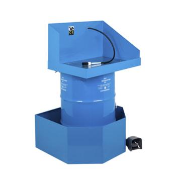 Teilereiniger - Teilewaschgerät - Auffangwanne - 1 x 200 l Fass Purgasol - Traglast 80 kg - Arbeitshöhe 922 mm