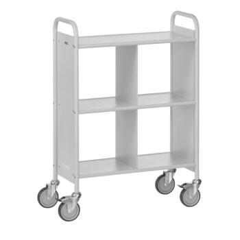 Fetra - Bürowagen - 150 kg - (BxT) 350 x 720 mm - 4 Fächer