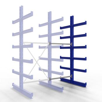 Mit diesem Anbauregal erweitern Sie ein Grundregal oder eine bestehende Regalreihe