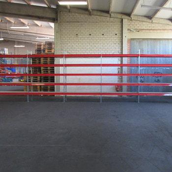 Weitspannregal m. Holzeinlage - 700 kg - (HxBxT) ca. 3.000 x 11.100 x 600 mm