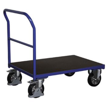 Schwerlast-Transportwagen, Schiebebügelwagen - Tragkraft 1.000 kg - Stahlrohre - Maße wählbar