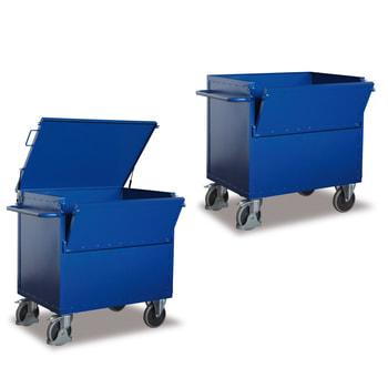 Blechkastenwagen: erhältlich mit und ohne Deckel