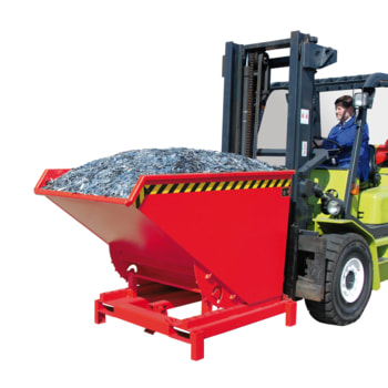 Schwerlast-Kipper - 4.000 kg - 1.700 l - Farbe wählbar - autom. Entriegelung