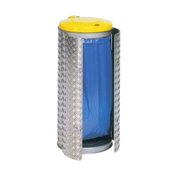 Beispielabbildung Abfallbehälter, Volumen 150 l: hier mit Deckel in Verkehrsgelb (RAL 1023)