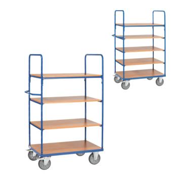 Beispielabbildung Etagenwagen: erhältlich mit 4 oder 5 Etagen