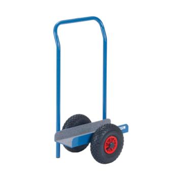 Beispielabbildung FETRA Plattenroller mit Schiebebügel: hier in der Ausführung mit Luftbereifung