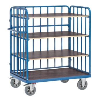 Fetra - Etagenwagen - 1.200 kg - Ladefläche wählbar - 4 Böden - Längswand