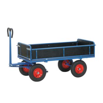 Handpritschenwagen mit Bordwänden - Ladefläche, Bereifung und Zugöse wählbar