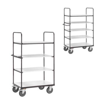ESD Etagenwagen: erhältlich mit 4 oder 5 Böden