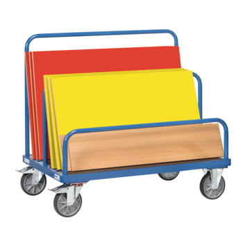 Beispielabbildung FETRA Plattenwagen: Lieferung ohne Bügel