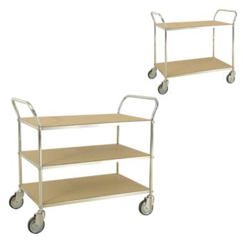 ESD Transportwagen, verzinkt: erhältlich mit 2 oder 3 Etagen