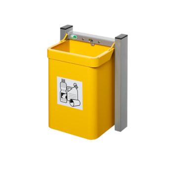 Beispielabbildung Abfallsammler, hier in der gelben Ausführung