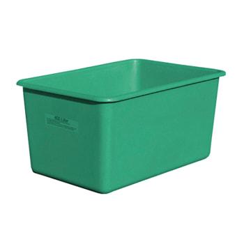 Beispielabbildung: Rechteckbehälter hier in der grünen Ausführung