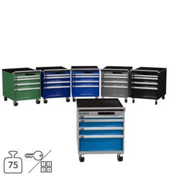 Lista Schubladenschrank - fahrbar - 14.281 - 723 x 564 x 725 mm (HxBxT) - 4 Schubladen - 75 kg