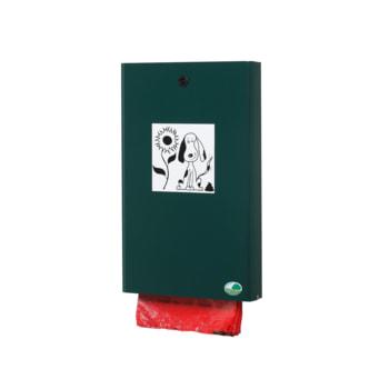 Beispielabbildung: Beutelspender, hier in moosgrün