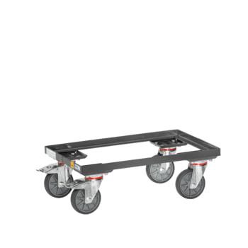 Beispielabbildung: ESD-Eurokasten-Roller, hier in der Ausführung mit offenem Rahmen