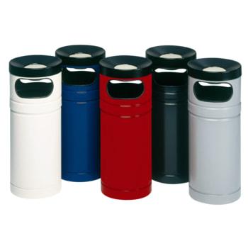 Abfallsammler - Ascher - für Kunststoffsäcke - Volumen 56 l - 885 x 365 x 365 mm (HxBxT) - Farbe wählbar