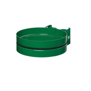 Müllsackhalter in Smaragdgrün
