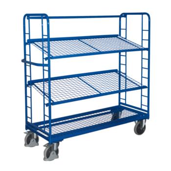 Beispielabbildung Etagenwagen: hier in der Ausführung mit Ladefläche 1.605 x 650 mm (BxT)