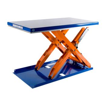 Flachform Hubtisch - geschlossene Plattform - 1.270 x 1.350 mm (BxT) hier abgebildet mit 1.000 kg Traglast