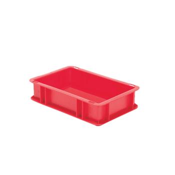 Beispielabbildung Eurobox, 75 x 200 x 300 mm: hier in der roten Ausführung