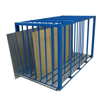 Beispielabbildung Blechlagerbox (Blech und Brett nicht im Lieferumfang enthalten)