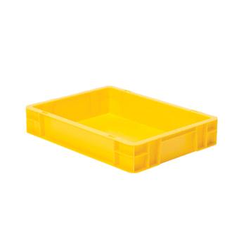Beispielabbildung Eurobox, 75 x 300 x 400 mm: hier in der gelben Ausführung
