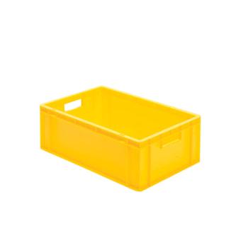 Beispielabbildung Eurobox, 210 x 400 x 600 mm: hier in der gelben Ausführung