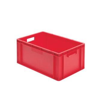 Beispielabbildung Eurobox, 270 x 400 x 600 mm: hier in der roten Ausführung