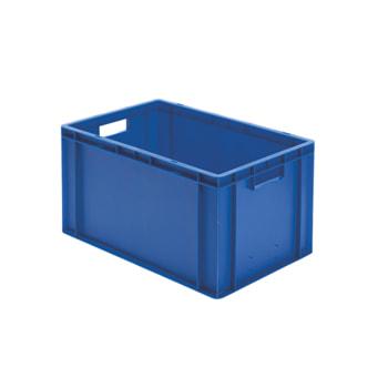 Beispielabbildung Eurobox, 320 x 400 x 600 mm: hier in der blauen Ausführung