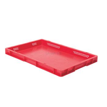 Beispielabbildung Eurobox, 50 x 400 x 600 mm: hier in der roten Ausführung