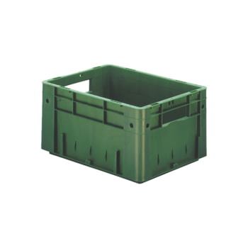 Beispielabbildung Schwerlast Eurobox, 210 x 300 x 400 mm: hier in der grünen Ausführung