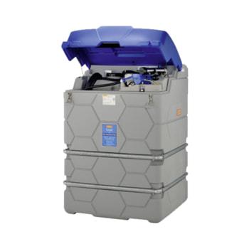 Mobile AdBlue Tankanlage mit Klappdeckel - Hier abgebildet mit 1.500 l Volumen