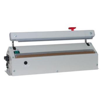 Folienschweißgerät mit Abschneider und Magnethalter: hier die Ausführung mit Schweißnahtlänge 420 mm