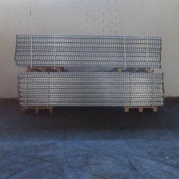 Gebrauchtes Palettenregal - ca. 3.500 x 11.300 x 1.100 mm - Schwerlastregal - Arestant - 5,1 Tonnen