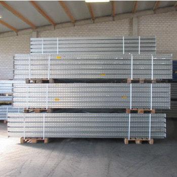 Gebrauchtes Palettenregal - ca. 4.500 x 10.300 x 1.100 mm - 2.800 kg - Dexion Speedlock P90