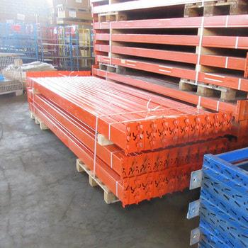 Gebrauchtes Palettenregal - ca. 2.450 x 8.500 x 1.100 mm - 6.000 KG - SLP