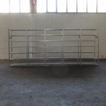 Steckregal - 2.100 x 6.000 x 600 mm - 42 Fachböden - Regal - Fachbodenregal - Dexion HI280
