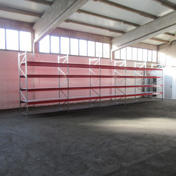 Weitspannregal m. Stahlpaneelen - 700 kg - (HxBxT) ca. 3.000 x 11.100 x 1000 mm