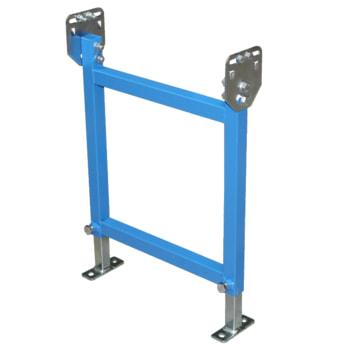 Ständer für 400 mm Klein-, Leicht-Rollen- und Röllchenbahn - (H) 1.100/1.550 mm 1.100 - 1.500 mm