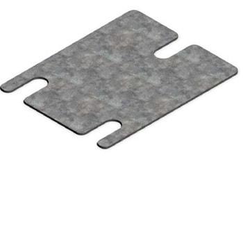 Unterlegblech 2x 80 x 80 mm (HxBxT) - für Palettenregal