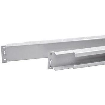 Längsträger für Fachteilerstäbe - Breite 875 mm - weißaluminium